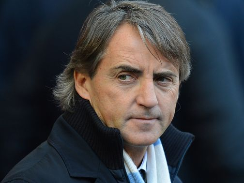 Roberto Mancini: Believes United have been lucky this season