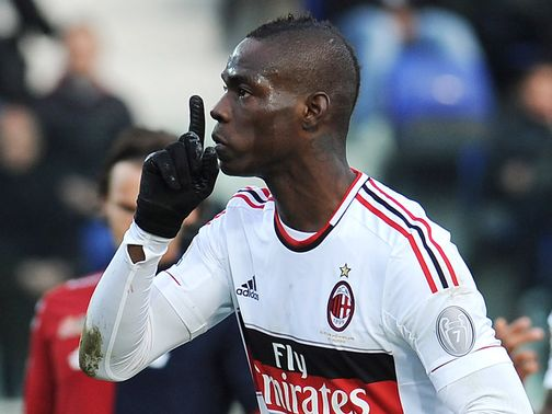 Mario Balotelli: Targeted by Inter fans