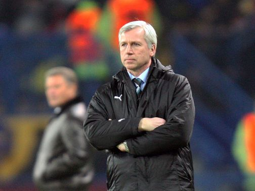 Alan Pardew: Mind on Europa prize