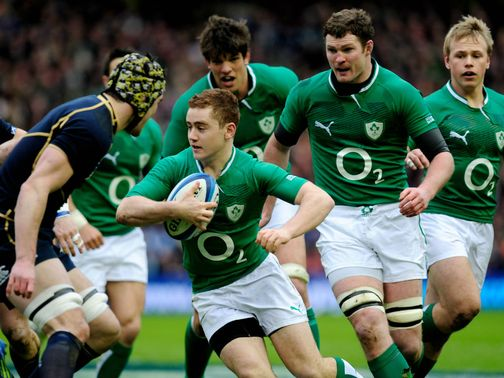 Paddy Jackson: Will start against France