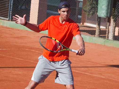 Rafael Nadal: Vowed to be patient