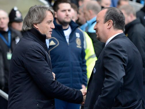 Mancini and Benitez are feeling the heat
