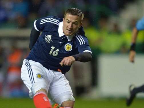 Ross McCormack: Pulled out of Scotland squad