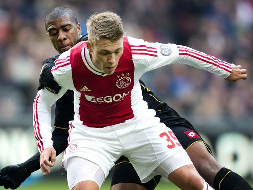 Viktor Fischer and Ajax were held by Roda