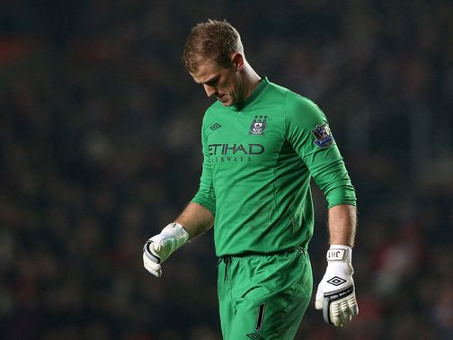 Joe Hart: Attire questioned by former City goalkeeper