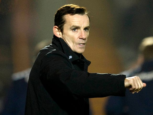 Danny Lennon: Pleased with the victory over Hearts