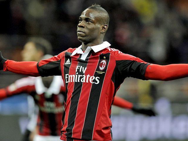 Mario Balotelli: Scored twice for Milan