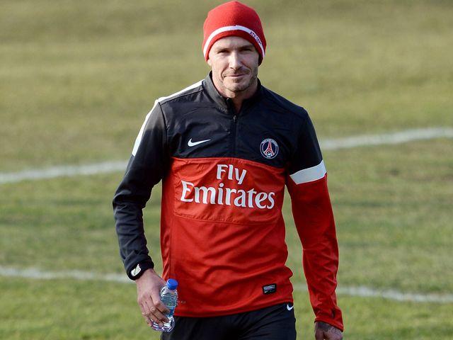 David Beckham: Wait for PSG debut