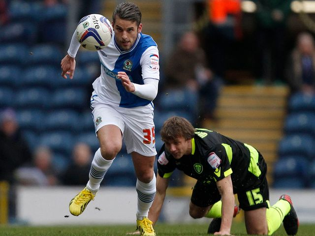 David Bentley in action for Blackburn against Leeds