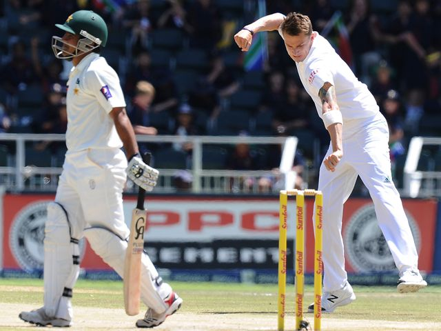 Dale Steyn: Took 11 wickets in the match