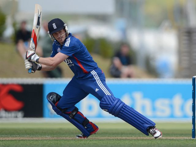 Morgan: Hit a half-century in defeat
