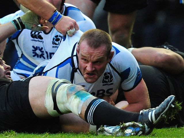Geoff Cross: Only change to the Scotland side