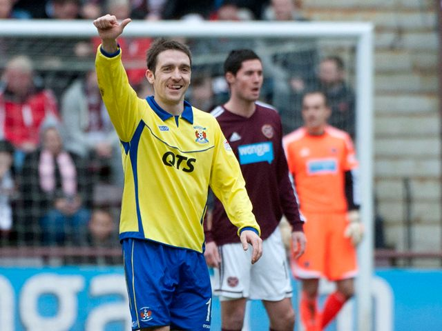 Paul Heffernan netted a hattrick for the visitors