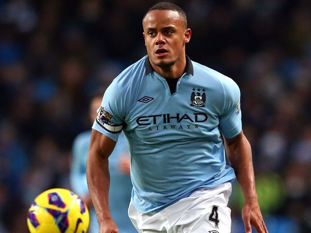 Vincent Kompany: Unlikely to be risked against Leeds