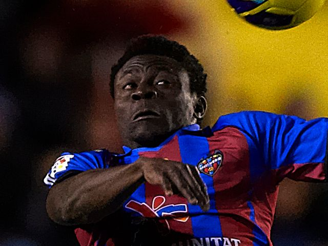 Obafemi Martins: Scored for Levante