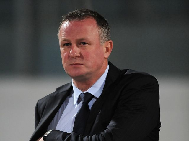 Michael O'Neill: Admits his side were not good enough