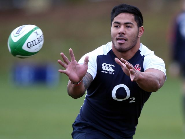 Manu Tuilagi: Only returned to training on Tuesday