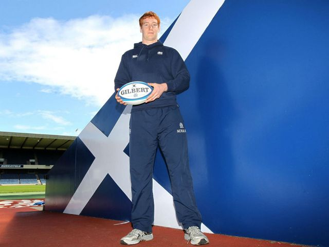 Robert Harley: Named in the Scotland back-row