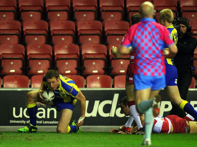 Joel Monaghan scored two tries for Warrington