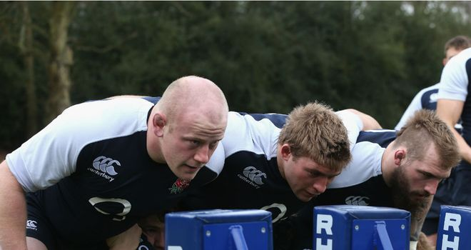 Dan Cole (left) knows that Italy will be tough up front