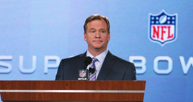 Roger Goodell: Delighted with the growth of the game outside the USA