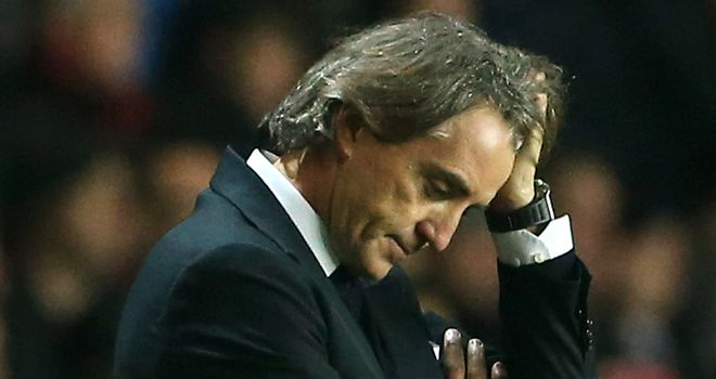 Roberto Mancini: Reportedly could be sacked if Manchester City lose in FA Cup