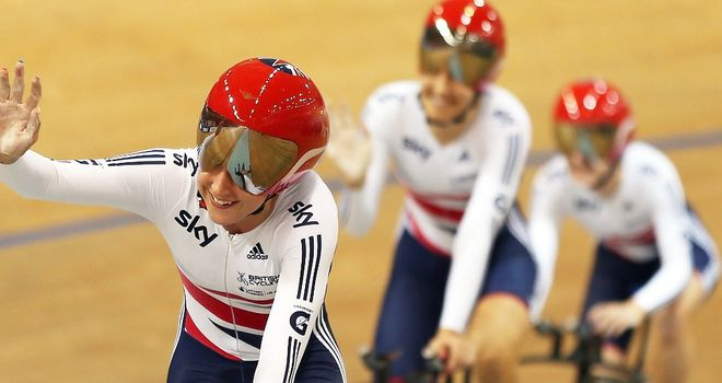 GB's women's pursuit team: Chris Newton to take charge