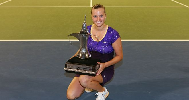 Petra Kvitova: Czech earned 10th WTA Tour title of her career in Dubai