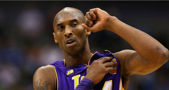 Kobe Bryant: Weighed in with 38 points for the Los Angeles Lakers