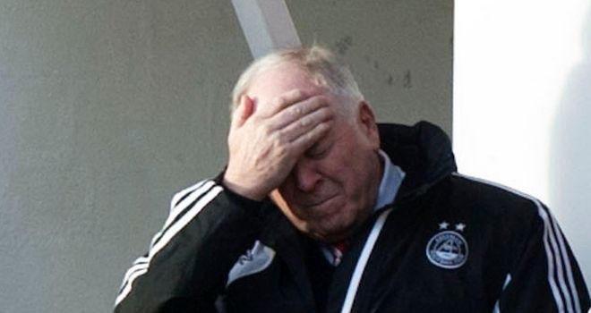 Craig Brown: Frustrated after sixth home stalemate of the season