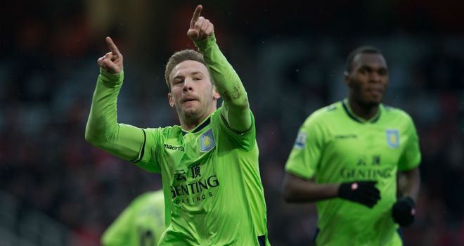 Andreas Weimann: Scored against Arsenal on Saturday, but accepts blame for the Gunners' late winner