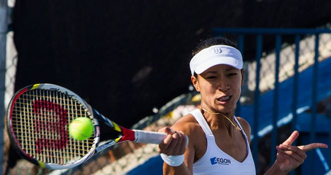 Anne Keothavong: No joy for British number four in Florianopolis