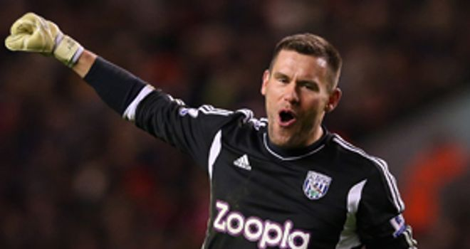 Ben Foster: The West Brom goalkeeper had an excellent match at Anfield