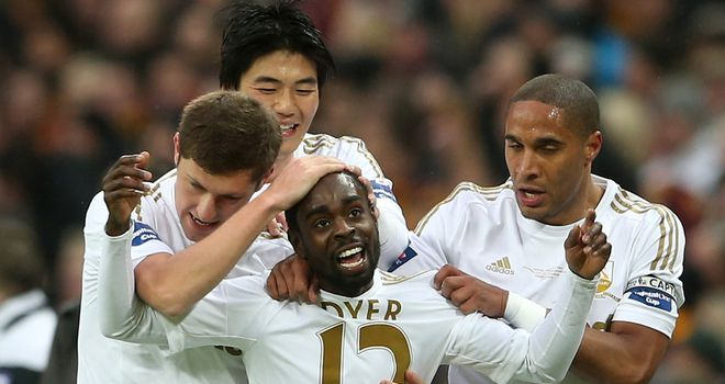 Swansea made history in the 2013 Capital One Cup final