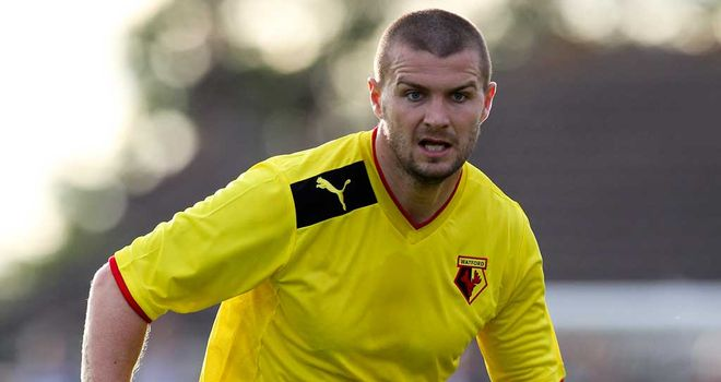 Carl Dickinson: Limited chances at Watford