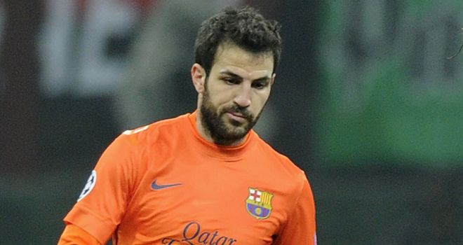 Cesc Fabregas: Barcelona need to take their chances against Real