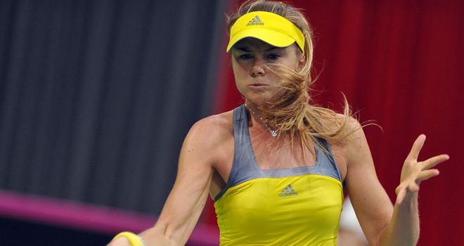 Daniela Hantuchova too stong for Britain's Laura Robson