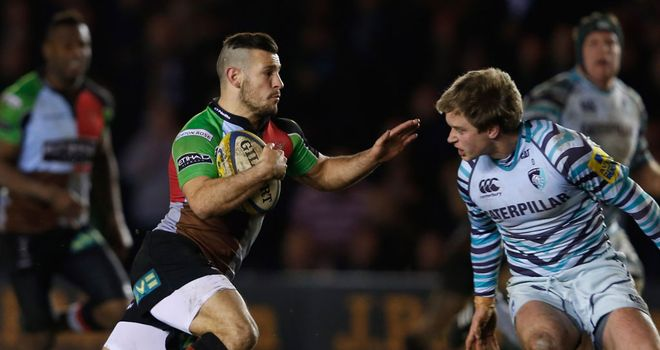 Danny Care: Scored a memorable try for Harlequins in the win over Leicester