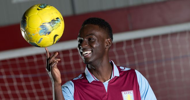 Simon Dawkins: Ready to experience atmosphere at Villa Park