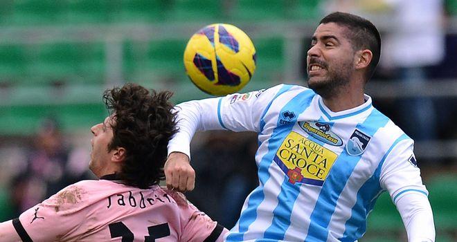 Fabbrini and Bianchi Arce do battle