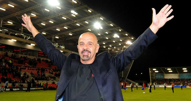 Marwan Koukash: wants Salford to be known as the Red Devils from the 2014 season