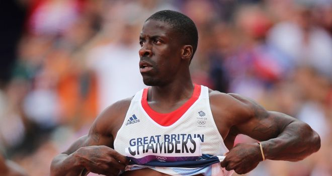 Dwain Chambers: Will know on Tuesday if he has been selected for the Gothenburg event