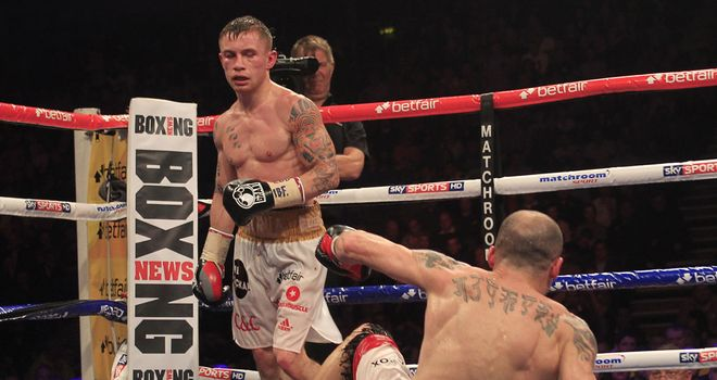 Carl Frampton: Scored an impressive victory over Kiko Martinez (Lawrence Lustig)