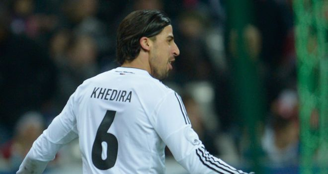 Sami Khedira scored the winning goal for Germany