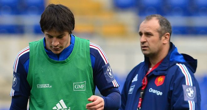 Francois Trinh-Duc (L): Recalled by France head coach Phillipe Saint-Andre