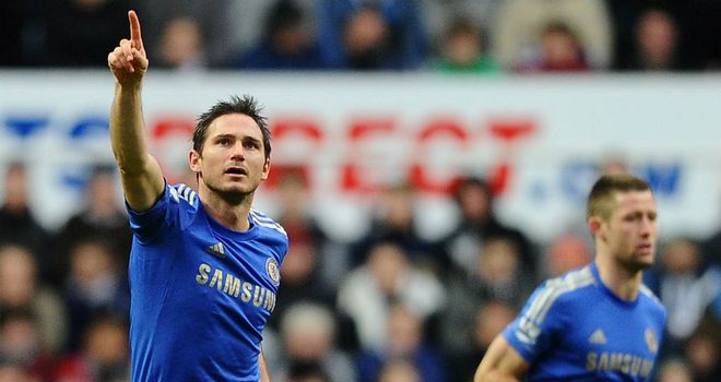 Frank Lampard: Chelsea midfielder is closing in on club's all-time scoring record