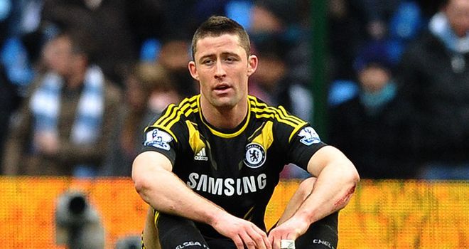 Gary Cahill thinks Manchester City were the fresher team on Sunday.