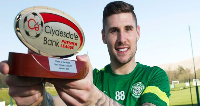 Gary Hooper: Scoops January award