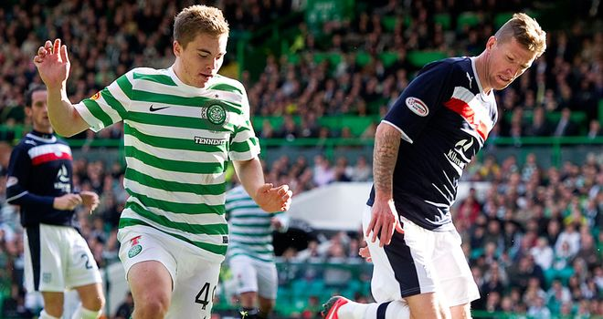James Forrest: Scored against Dundee and now hoping for an extended run in the team