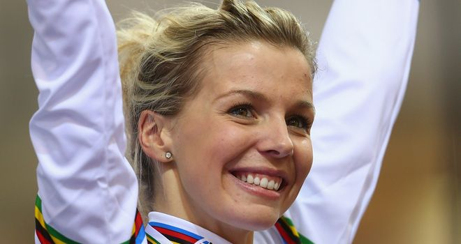Becky James has backed British Cycling's campaign
